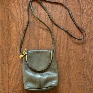 Hobo Fern Leather Crossbody Bag - green